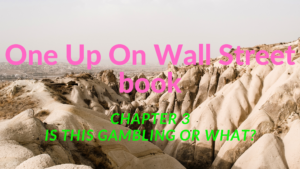 One Up On Wall Street: Chapter 3