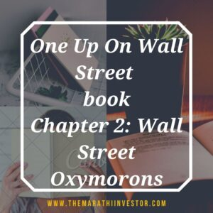 One Up On Wall Street: Chapter 2