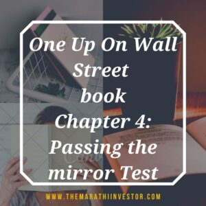 One Up On Wall Street: Chapter 4