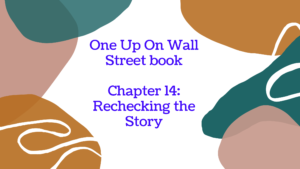 One Up On Wall Street book: chapter 14