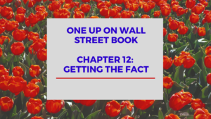 One Up On Wall Street Book: Chapter 12