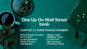 One Up On Wall Street Book: Chapter 13
