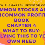 Common Stocks & Uncommon Profits: Chapter 4