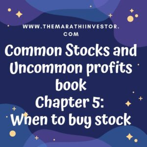 When to buy stocks