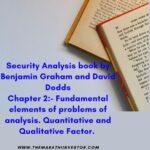 Benjamin Graham security Analysis Chapter 2
