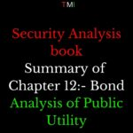 Security Analysis: chapter 12